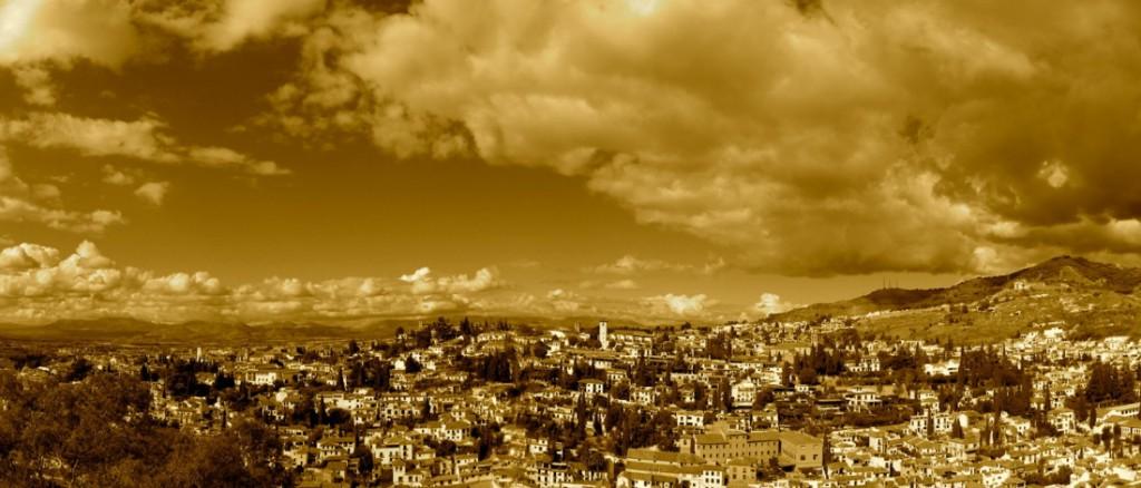 Vue de Grenade depuis l'Alhambra