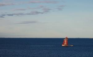 Phare vu depuis l'Hurtigruten